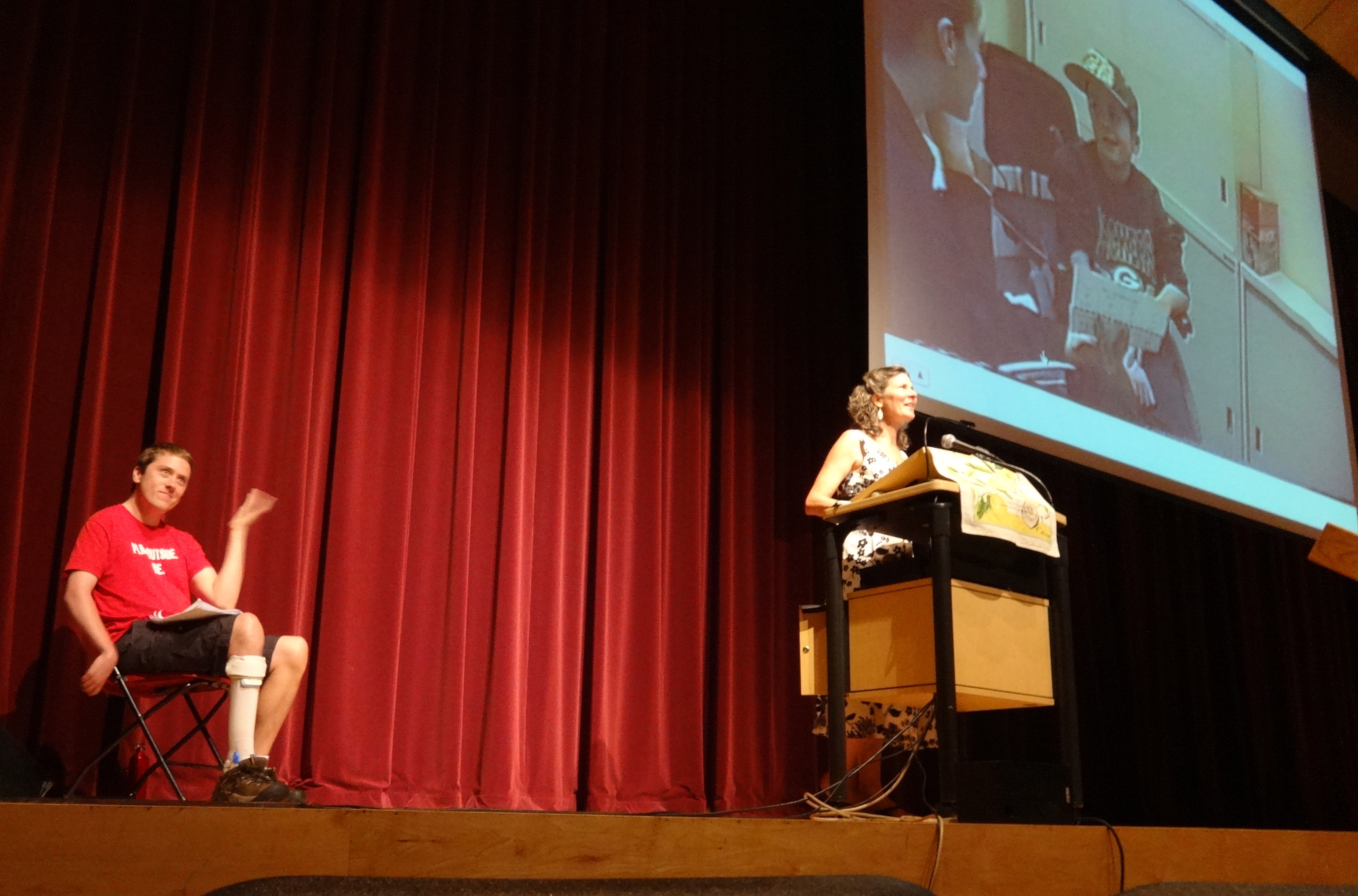 Mother Son Inspirational Speaking Duo