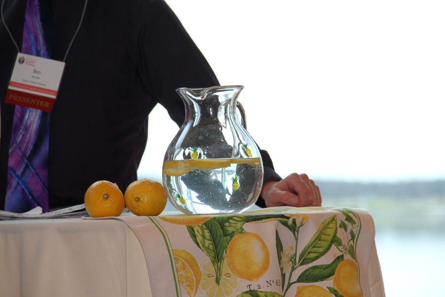 Lemons always at the ready